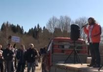 Протест жителей Подмосковья против мусорных полигонов пошел на спад