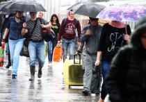 Дожди пришли в Москву надолго